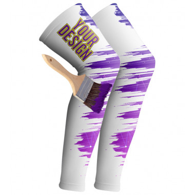 YOUR DESIGN cycling leg sleeves