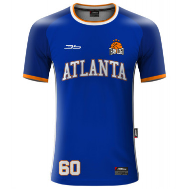 ATLANTA warm-up basketball jersey