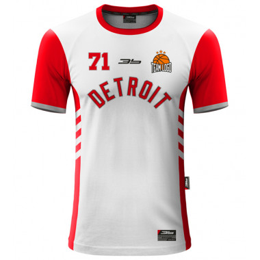 DETROIT warm-up basketball jersey