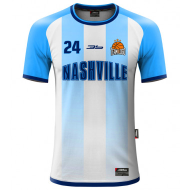 NASHVILLE warm-up basketball jersey