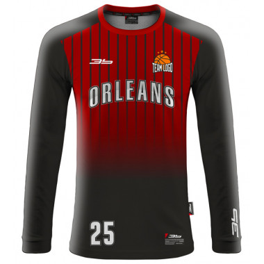 ORLEANS warm-up basketball jersey