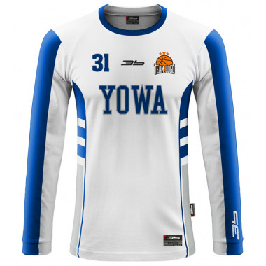YOWA warm-up basketball jersey