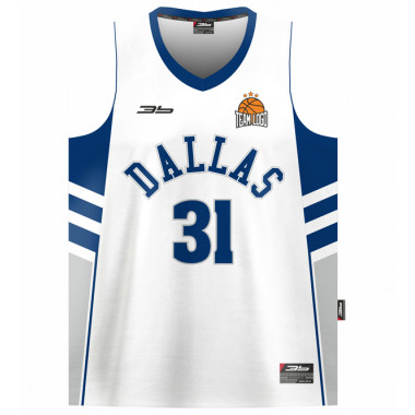 DALLAS basketball jersey