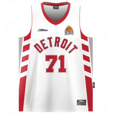 DETROIT basketball jersey