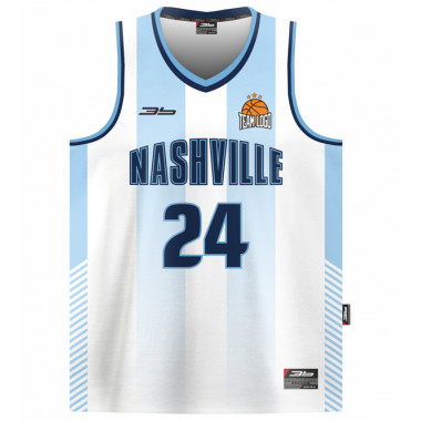 NASHVILLE basketball jersey