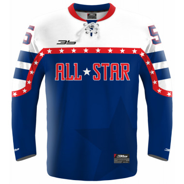 ALL STAR hockey jersey