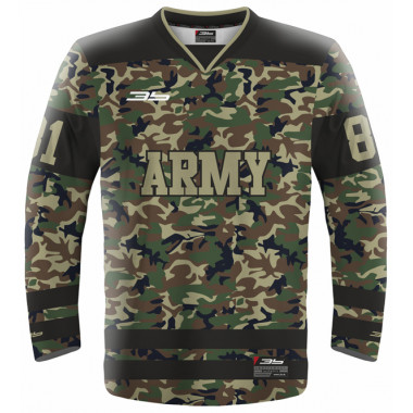 ARMY hockeyball jersey