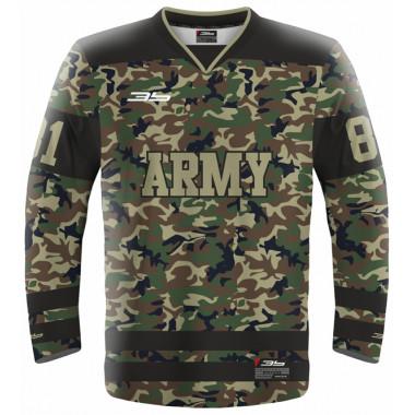 ARMY hockeyball jersey