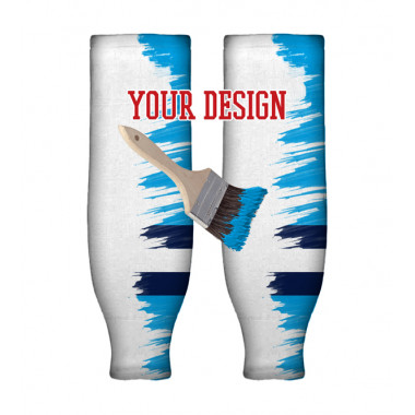 YOUR DESIGN hockey socks knitted