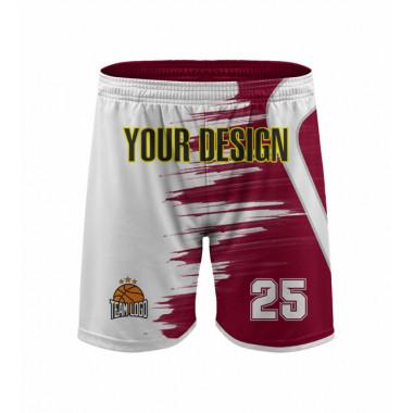 YOUR DESIGN basketball shorts