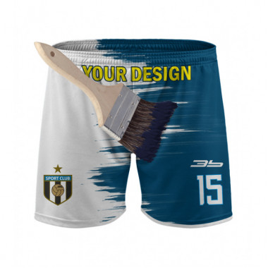 YOUR DESIGN football shorts